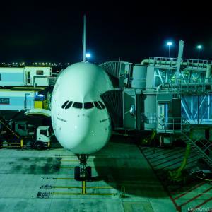 A380らしい一コマ