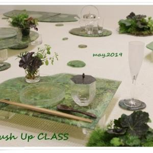 ガラスの器で初夏のテーブル -松山美恵さんの器を使って ~ブラッシュアップクラス