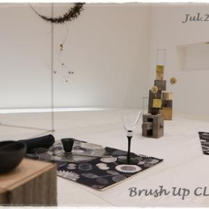 永井小百合さんの真鍮作品で夏の夜のテーブル ~ブラッシュアップクラス