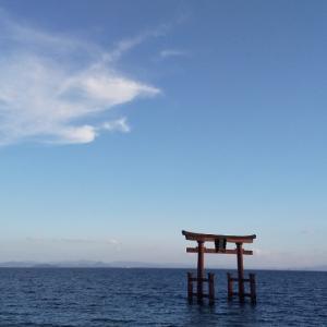 白髭神社神社前を通過してビックリした光景