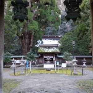 若狭一の宮若狭姫神社《若狭の水巡り》