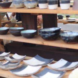 きゅんとふたりで陶器祭ってか(*´˘`*)ノ❣