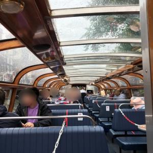 アムステルダム ボートツアーとルームサービスの朝食