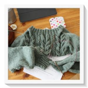 セーター再開