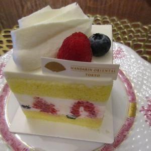 【マンダリン オリエンタル】ミックスベリーのショートケーキ