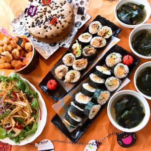 10月日曜日料理教室 ハロウィン韓国風料理