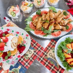 クリスマス親子料理教室
