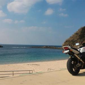 CB1300@長崎西海ツーリング