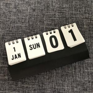 セリアで見~つけた♪インテリアを邪魔しないカレンダー♪