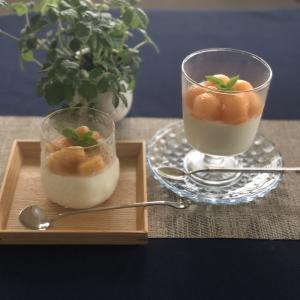 簡単に作れるデザートは北欧のグラスでワンランクアップ♪