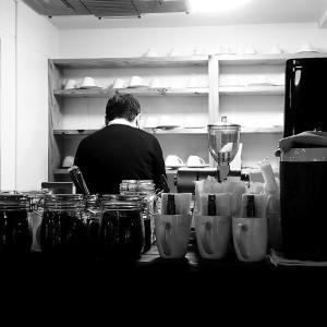 女房とカフェデート
