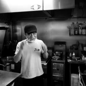 森町「7福神」で限定カレーつけ麺