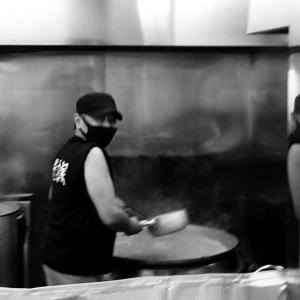 細江町「蔵前家」でチャーシュー麺と味玉