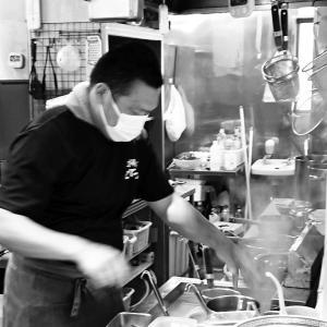 磐田 忍者系「支那そばこてつ」で定番チャーワン