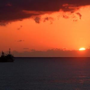 見惚れる夕陽