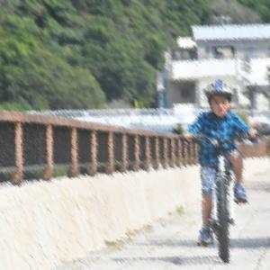 初サイクリング♪