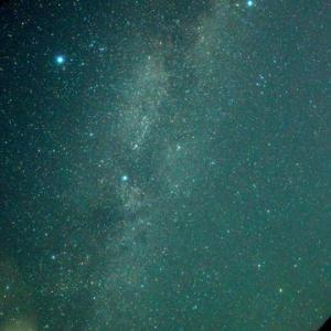 七夕の星空