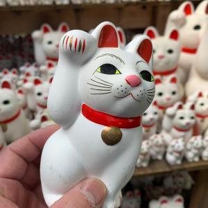 招き猫の聖地・豪徳寺へ。