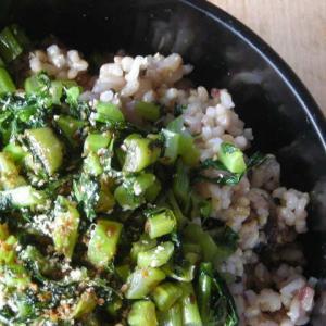 高血糖改善に役立つ玄米菜食