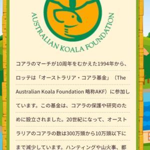 コアラのマーチを買うことでオーストリアの森林火災の募金となる?!コアラ基金