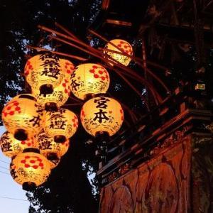 宵の山車 ― 星宮祭(本地祭)3 ―