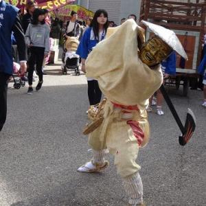鬼がひょろつく ― 上野天神祭 ―