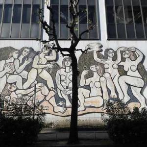 北川民次のモザイク壁画