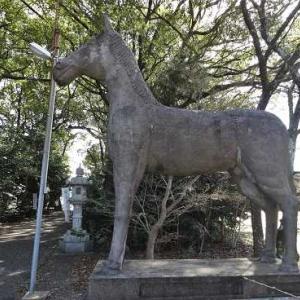 4体目の高見彰七の神馬 (福田神明社)