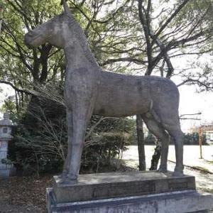 福田神明社の神馬の謎解き