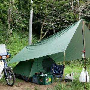 ☆★月川荘キャンプ場でソロキャンプ・・・