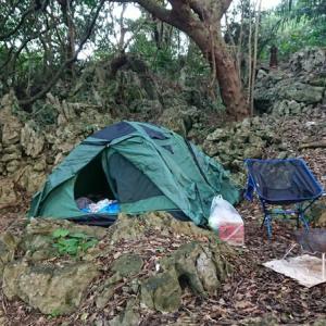 ☆★沖縄で年越しキャンプ・・・3日目・・比地大滝キャンプ場