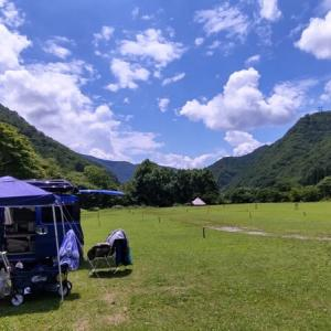☆★日本一周、老犬と車中泊の旅・・・みなかみ町の谷川岳山麓オートキャンプ場
