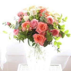 ピンクローズの花束