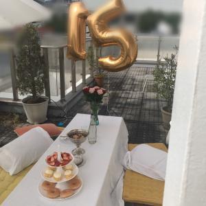 ちゅむ(娘14歳)のお友達の誕生会と、プレゼント