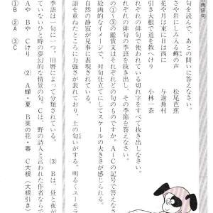 俳句の鑑賞