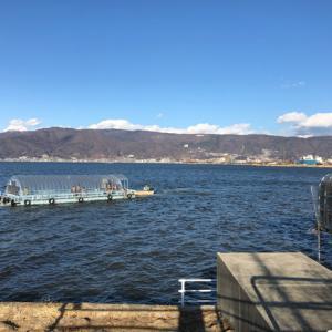 2019年2月 諏訪湖 ワカサギ釣り