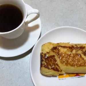 パン粉でフレンチトースト