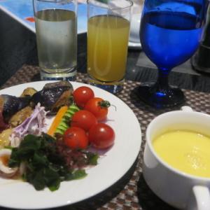 ニューオータニイン横浜プレミアム3階レストラン❝THE SEA❞の夕食は海鮮丼