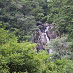 大平温泉 滝見屋からの景色