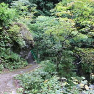 大平温泉 滝見屋へ
