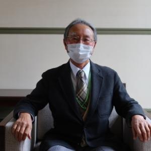材料技術研究協会理事(前副理事長)・折原勝男様来館