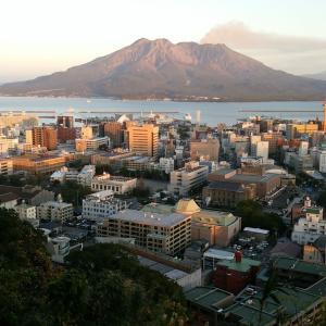 明治革命薩摩のシンボル❗夕景の桜島