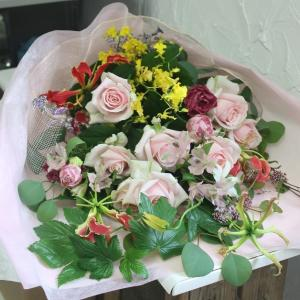 花束の贈り物