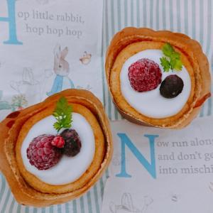 【料理】レモンシフォンカップケーキ