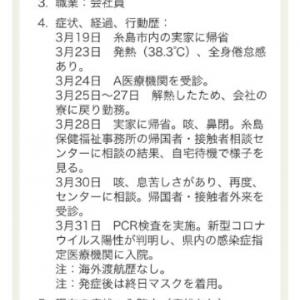 4月の定休日のお知らせ&京都郡地区の新型コロナウィルスの現状