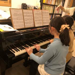 2台ピアノレッスンでアドレナリンを^_^