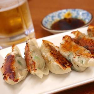 香川・琴平の食事処「ハニー雷蔵」の自家製ニラ餃子&ビールがうまい!