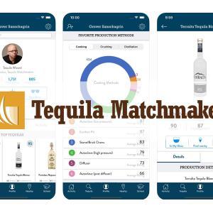 テキーラをいろいろ飲みつつ、アプリ「Tequila Matchmaker」で記録!