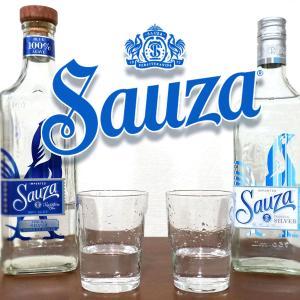 サントリーが販売するテキーラ「サウザブルー」と「サウザシルバー」を飲み比べてみた。
