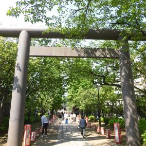 藤原秀郷が戦勝御礼に弓矢を奉納した「亀戸/香取神社」